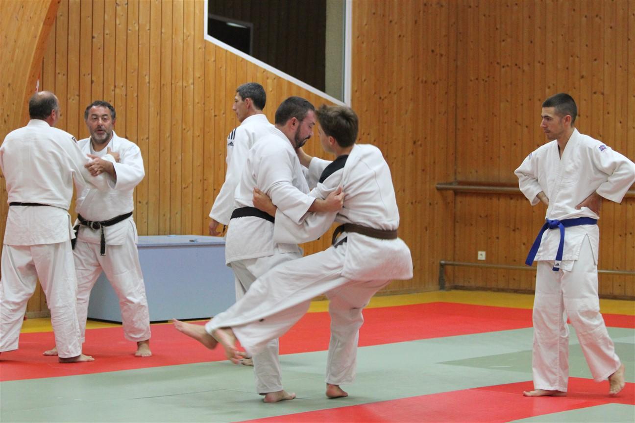 Jujitsu / Taïso veille de vacances !!!
